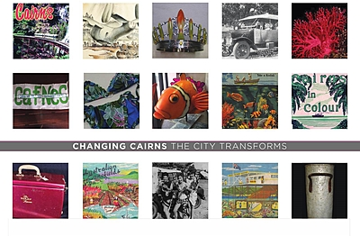 Changing Cairns captures the transformation of Cairns to an international tourist destination, environmental and Indigenous hotspot and hippy drawcard.