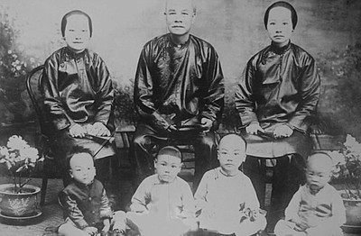 P12522 King Shan and his family, c1870