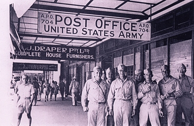 P12714: US troops Abbott St, Cairns, 1943