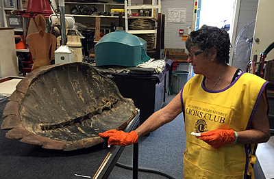 If you've always wondered how to clean a turtle shell, the Cairns Museum might be just the place!