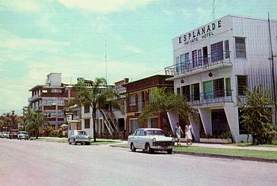 Cairns Esplanade, c1970