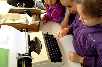 Education - Australian Students - Typewriter